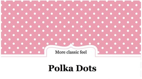 Polka Dots PowerPoint Background 1 - 10+ Pink PowerPoint Backgrounds