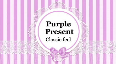 Purple Pink Present PowerPoint Background 1 - 10+ Pink PowerPoint Backgrounds