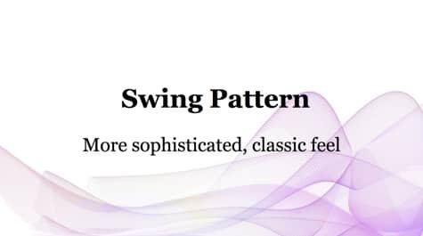 Simple Swing Pattern PowerPoint Background 1 - 10+ Pink PowerPoint Backgrounds