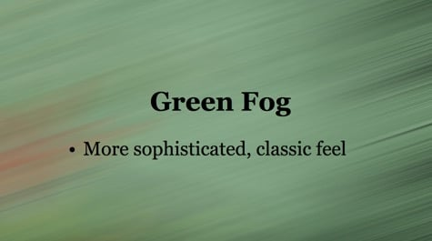 Green Rainy Fog PowerPoint Background 1 - 10+ Simple PowerPoint Backgrounds