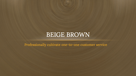 Brown Beige Background - 9 Brown PowerPoint Backgrounds
