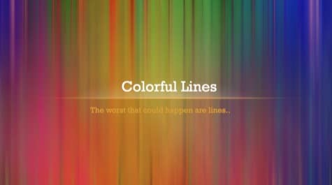 Colorful Linear Lines PowerPoint Background 1 - 10 Colorful PowerPoint Backgrounds
