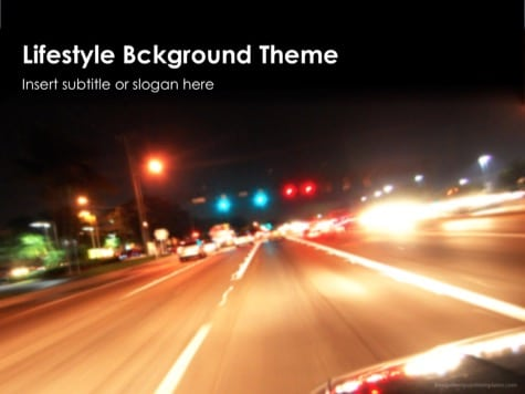 Lifestyle Background - 10 Colorful PowerPoint Backgrounds