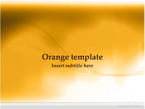 Orange PowerPoint Background - 10+ Orange PowerPoint Backgrounds