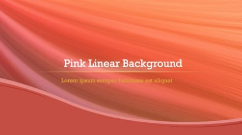 Pinky Lines PowerPoint Background 1 - 10+ Orange PowerPoint Backgrounds