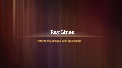 Ray Lines Brown PowerPoint Background 1 - 9 Brown PowerPoint Backgrounds