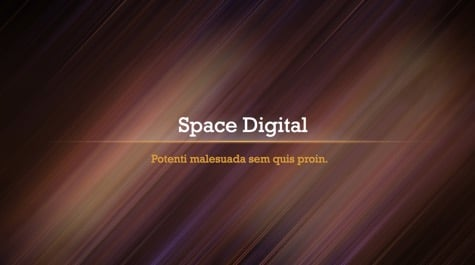 Space Digital Lines PowerPoint Background 1 - 9 Brown PowerPoint Backgrounds