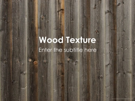 Wood Texture - 9 Brown PowerPoint Backgrounds