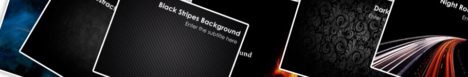 black PowerPoint backgrounds - 15 Black PowerPoint Backgrounds