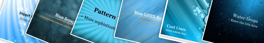 Blue PowerPoint Backgrounds Blue PowerPoint Backgrounds