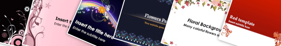 floral PowerPoint backgrounds - 10+ Floral PowerPoint Backgrounds