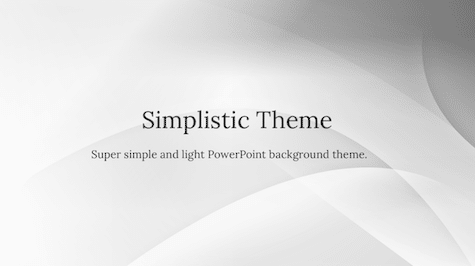 Simplistic background - 10+ Simple PowerPoint Backgrounds